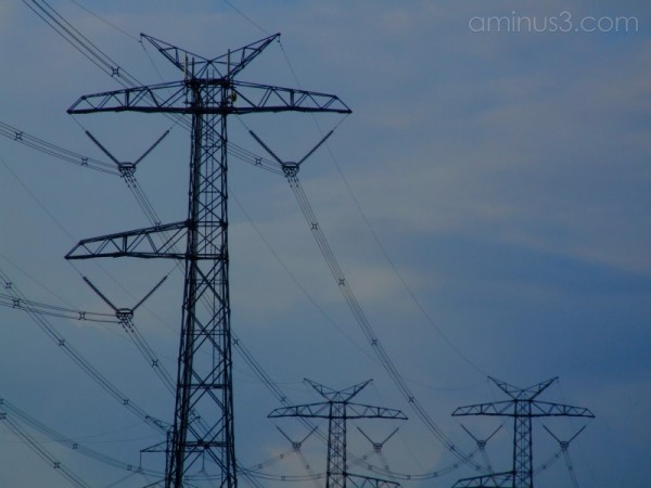 ..but ... Mum... where do the pylons come from?