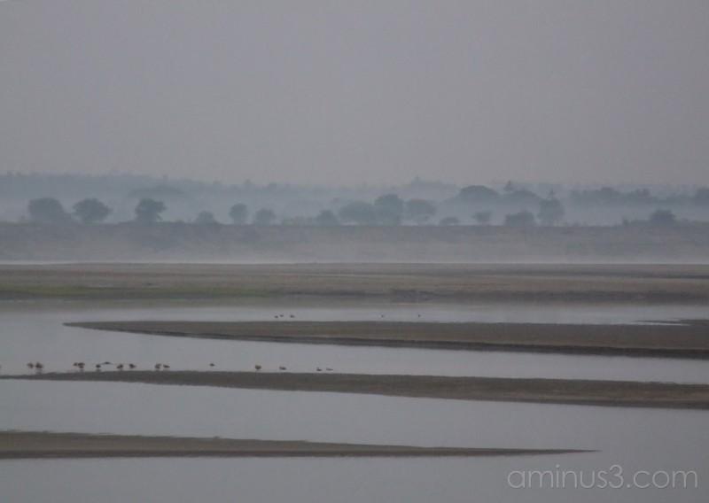 Dawn ~ Ayeyarwady River