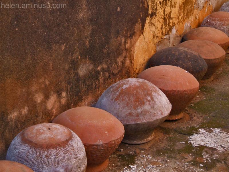 Burmese water pots