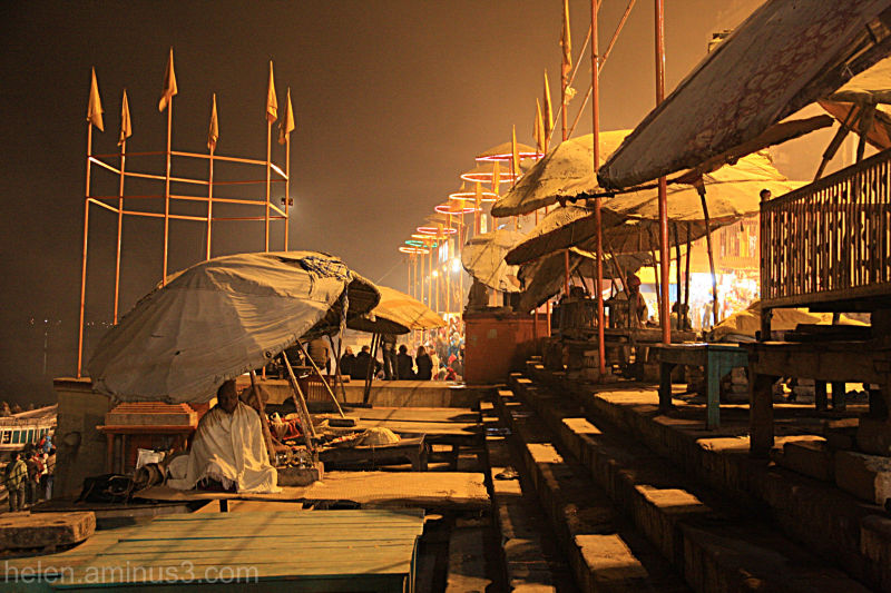 The cover of night: Varanasi