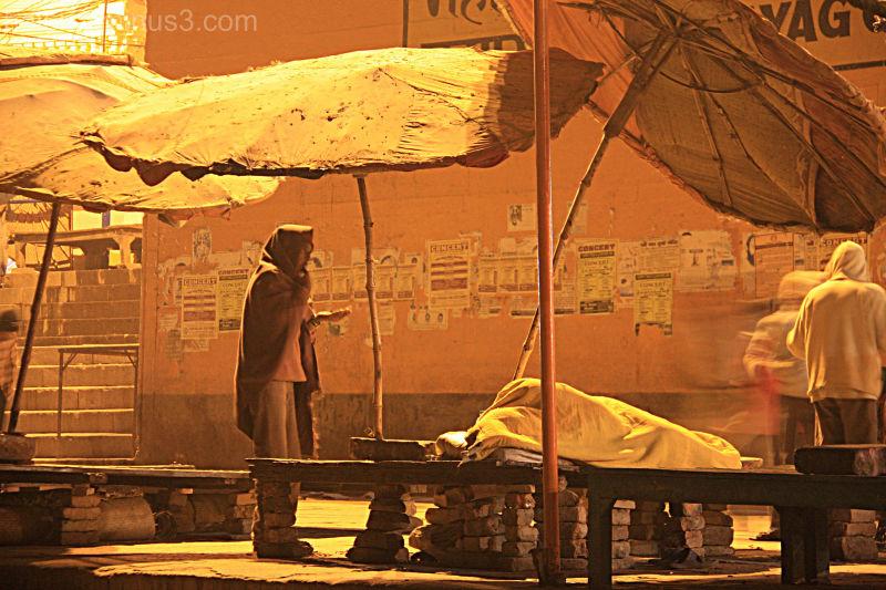 Varanasi:  Life goes on