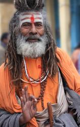 Along the Ganges I met ...