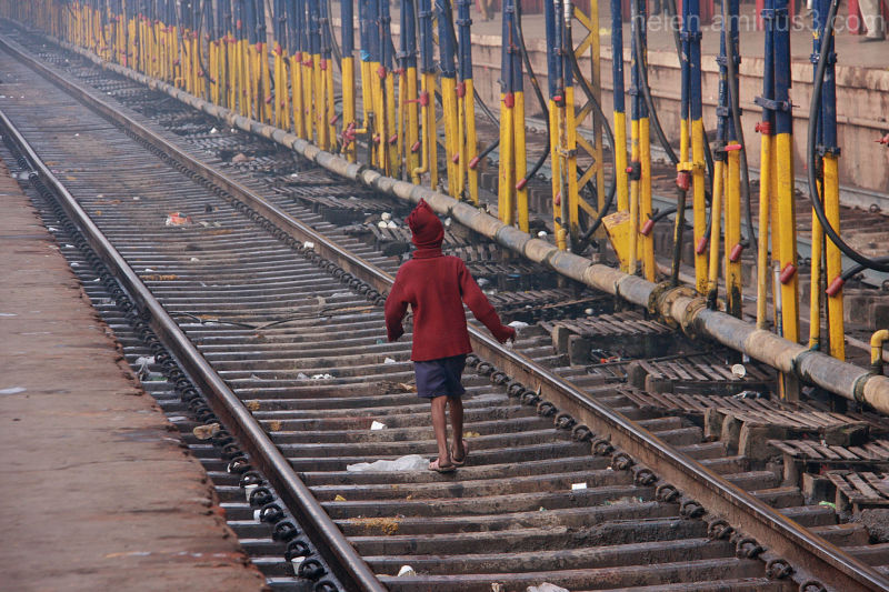 Varanasi Station - The recycler