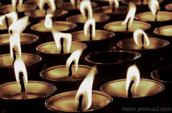 The flame of spirituality