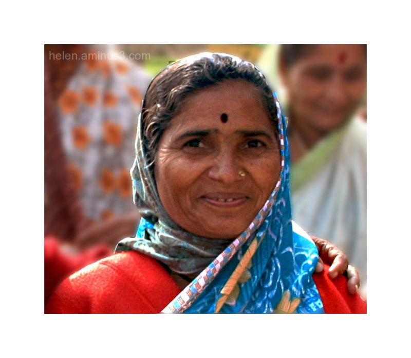 Along the Ganges - a smile