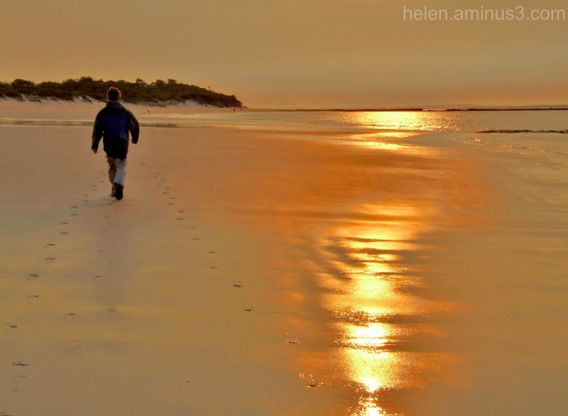 .  towards sunrise