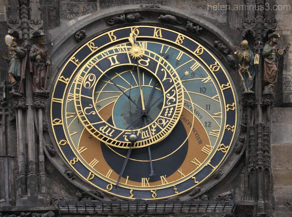 The Astronomical Clock - Prague