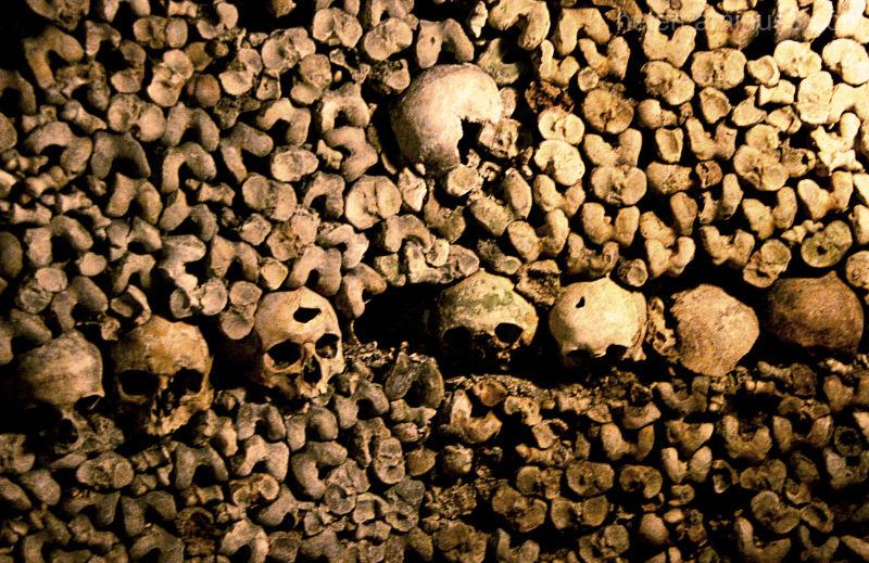 Les Innocents - Les ossements à Denfert-Rochereau