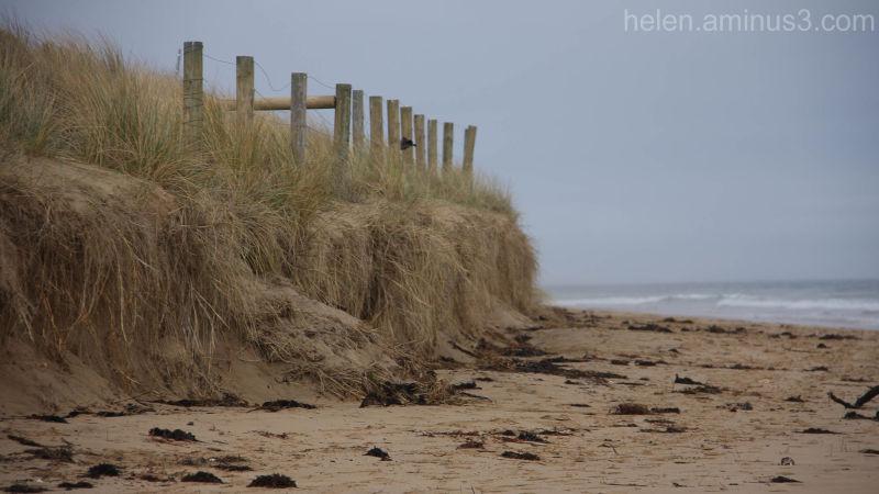 Torquay beach in winter - 1