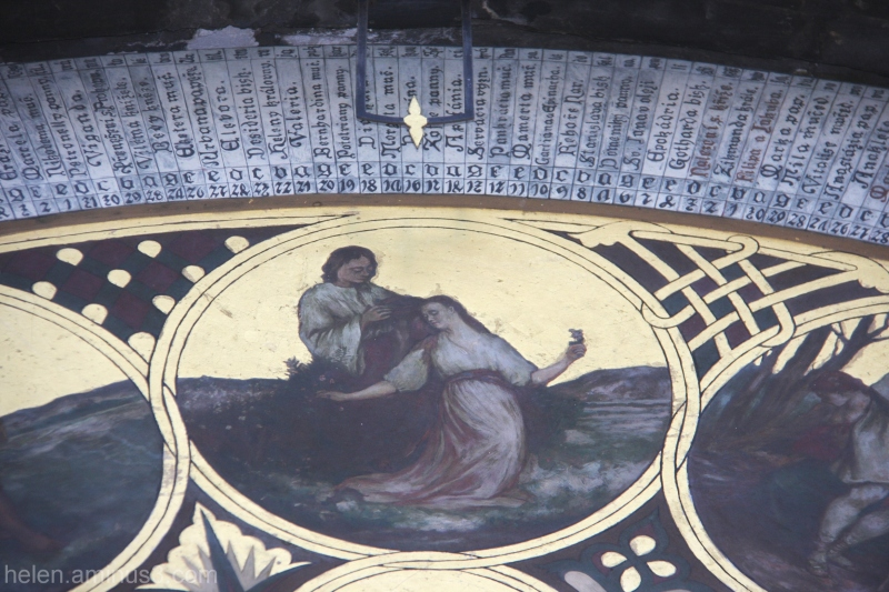 Astronomical Clock - detail