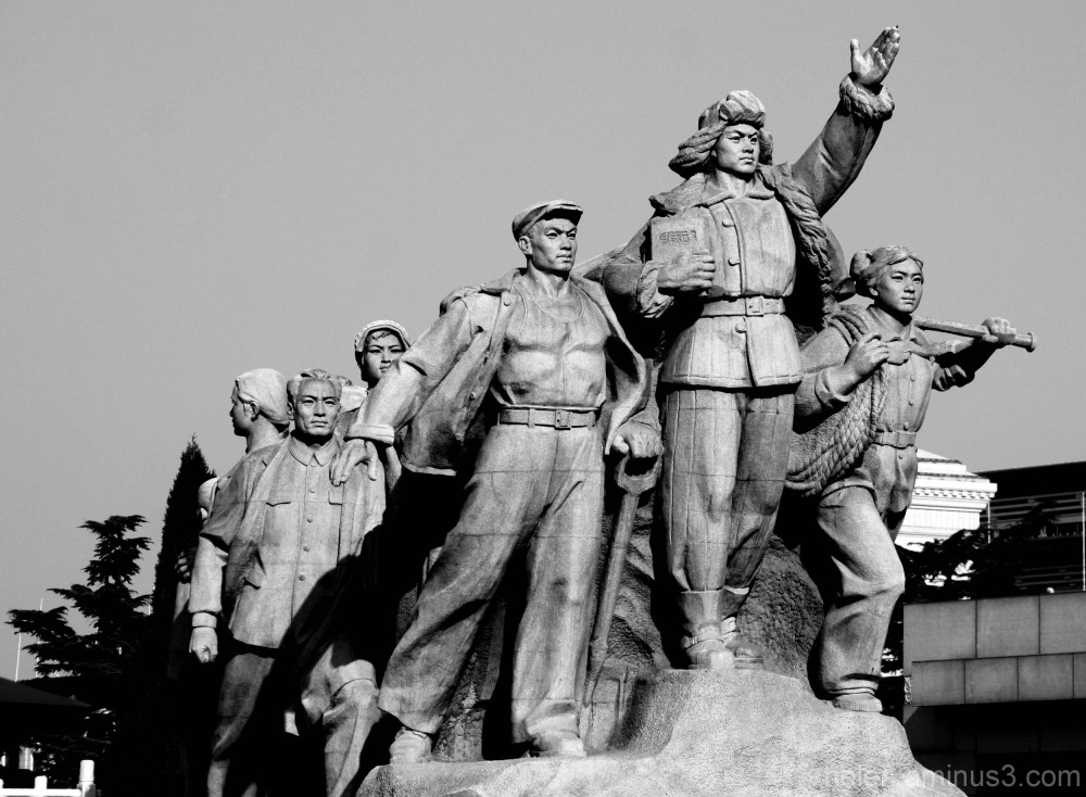 Statue of the workers - Tiananmen square