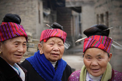 Three Miao Matriarchs