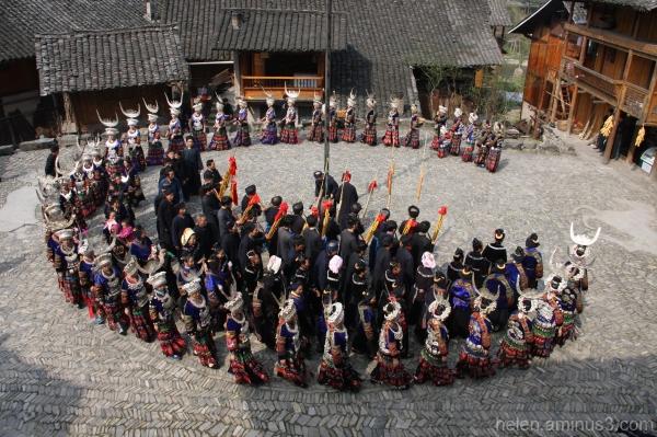 Spring festival dance