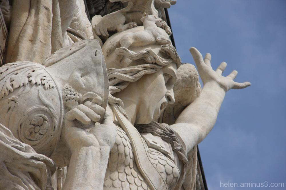 Detail - L'Arche de Triomphe