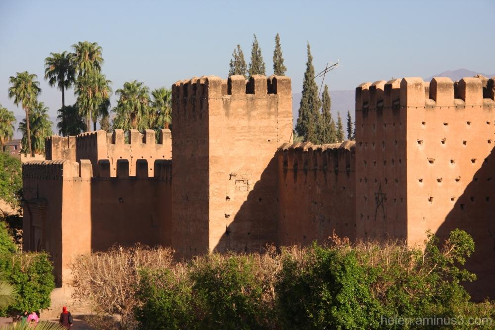 ochre walls