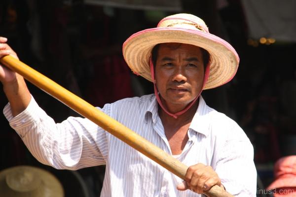 .. the oarsman