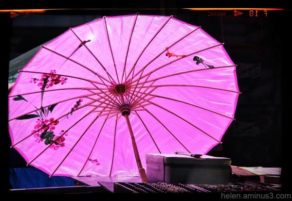 Market stall parasol