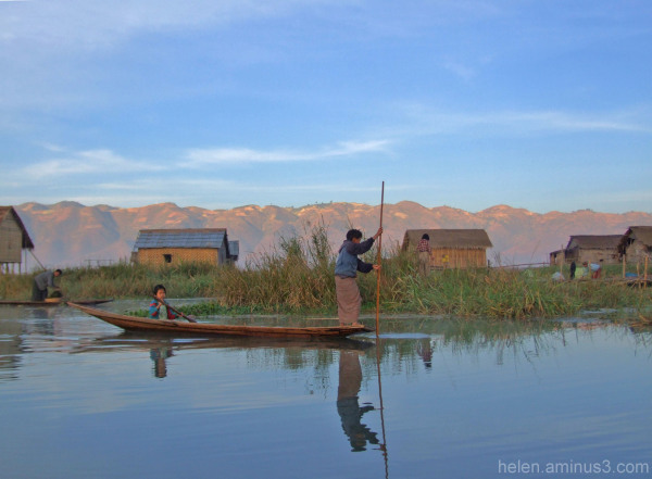 Aminus3 Color Featured photo Series: Inle lake 1 | 30 September 2013