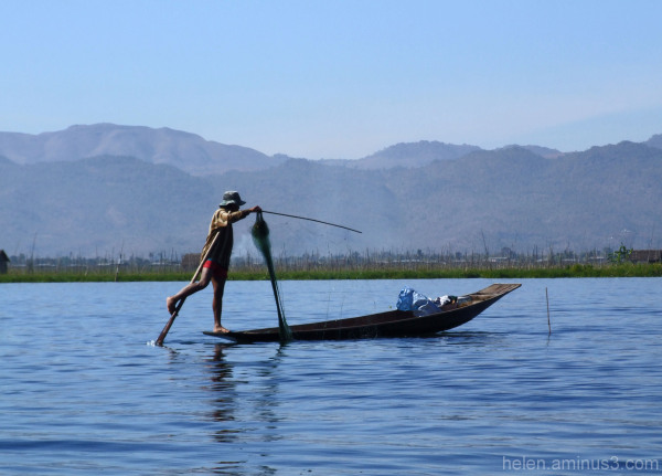 Series: Inle Lake 8