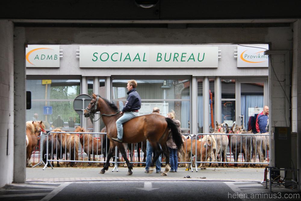 Dans la rue - Belge