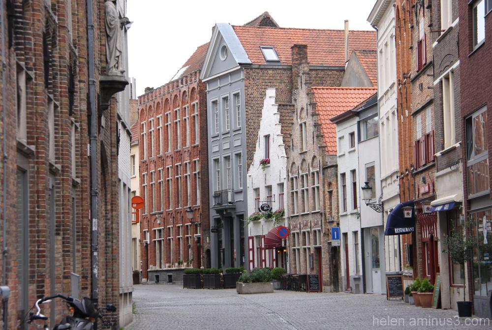 Dans une rue Belge