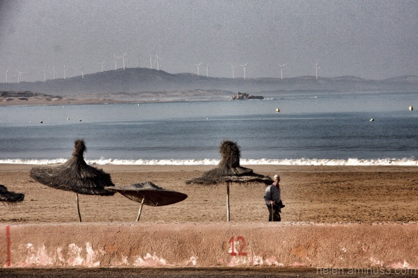 Windmills in Morocco
