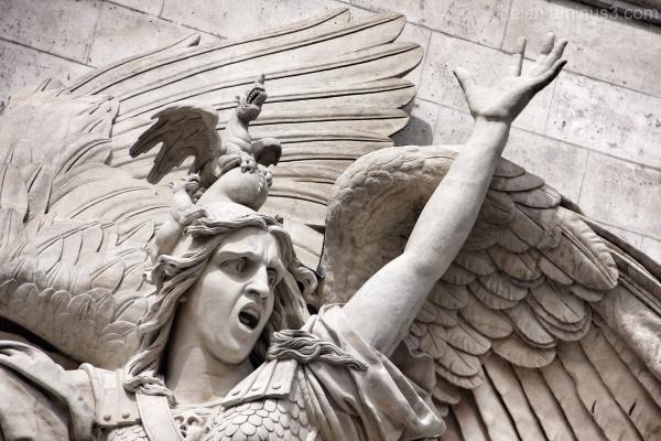 Detail - L'Arche de Triomphe 2