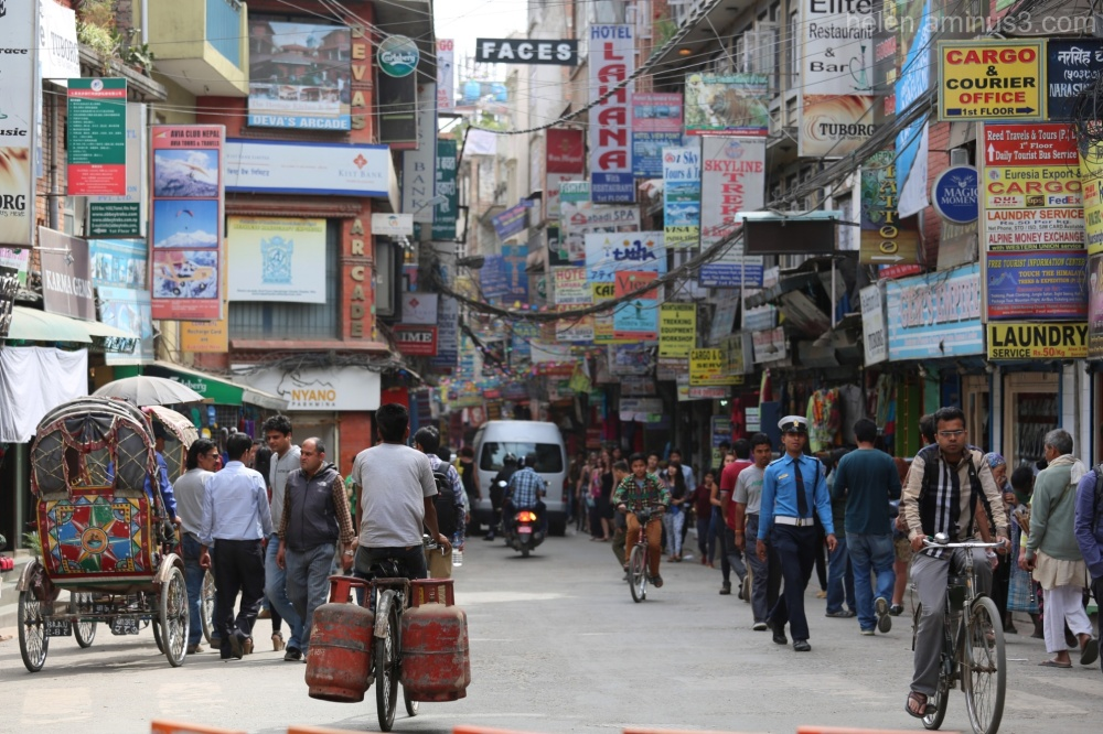 A visit to Thamel