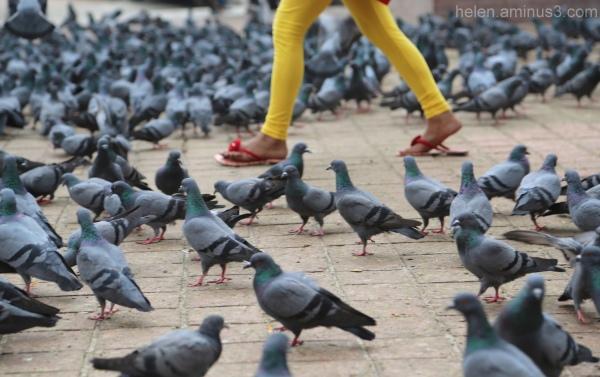 Pigeon toed