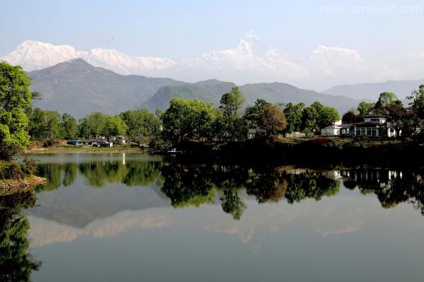 Reflections - Pokhara