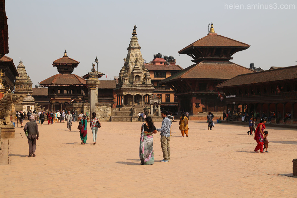 Nepali New Year and Bisket Jatra - Bhaktapur 1