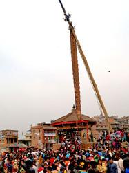 Nepali New Year and Bisket Jatra - Bhaktapur 5