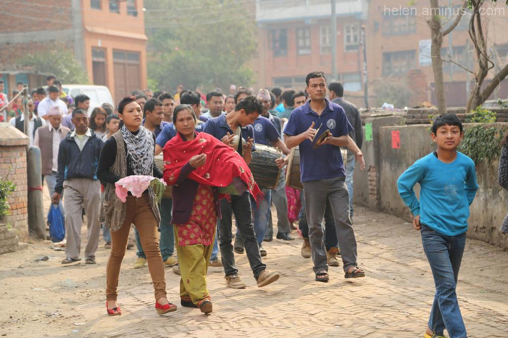Bisket Jatra Bhaktapur festival