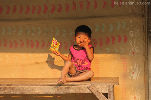 Tharu child - Nepal