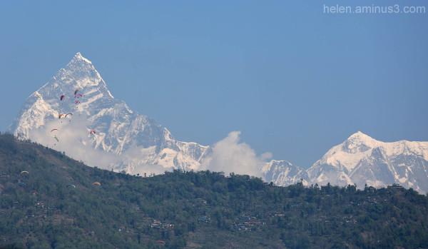 Mountains - Pokhara