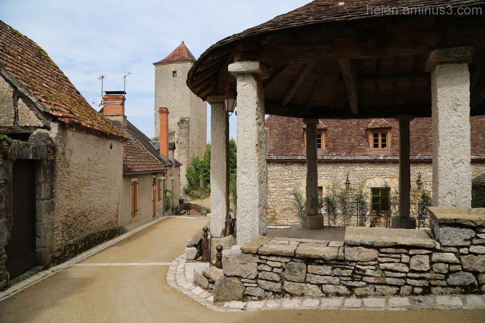 Village in the Dordogne 2