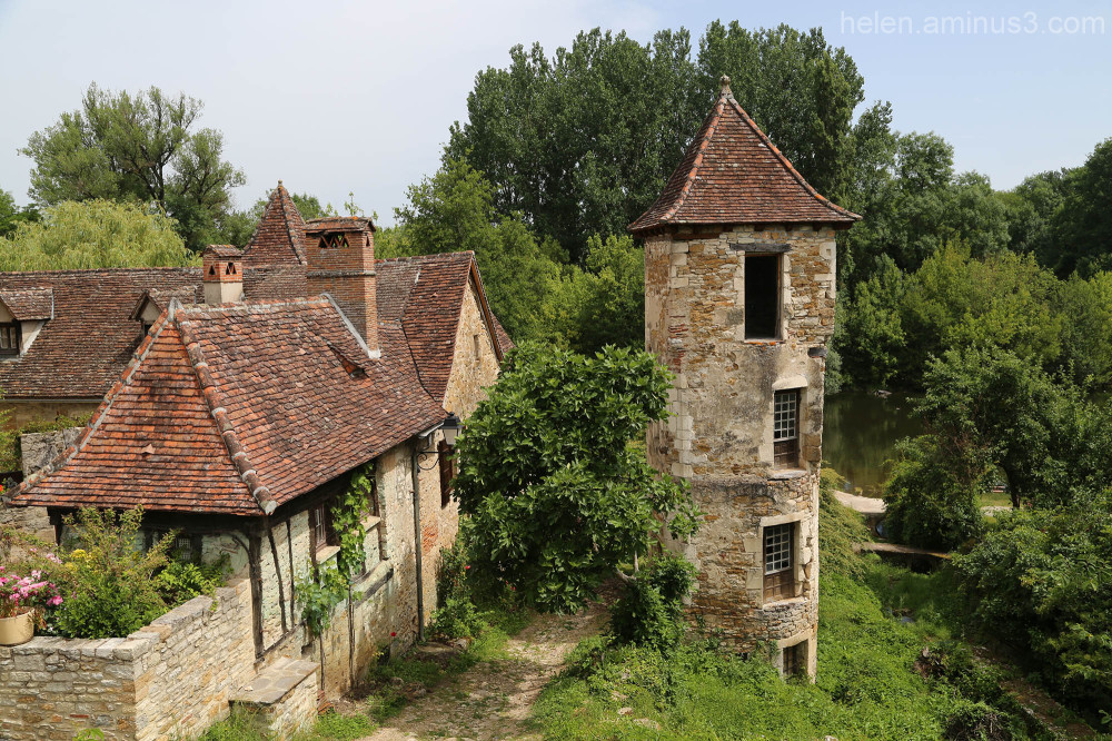 Village in the Dordogne 6