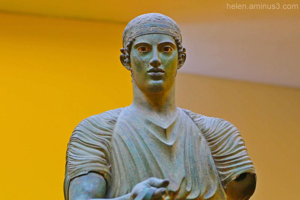 Charioteer of Delphi #2