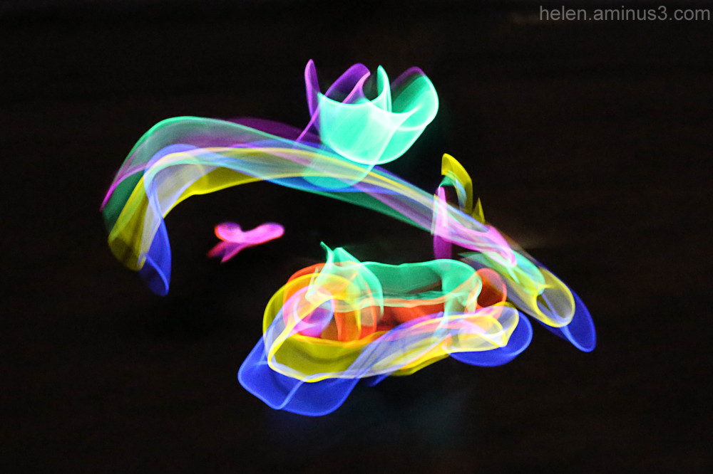 Glow sticks for New Year! 2