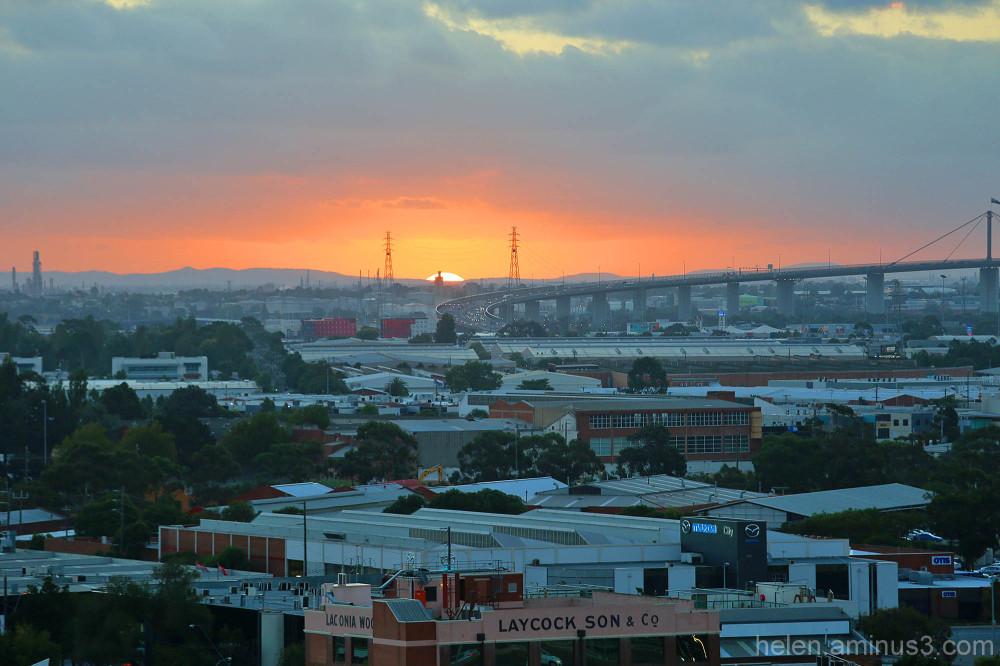 Melbourne @ sunset