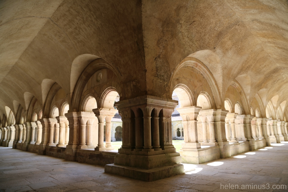 In the Abbaye de Fontenay