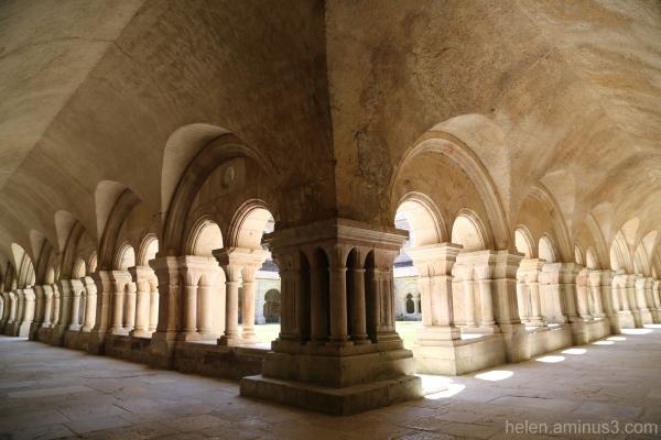 In the Abbaye de Fontenay