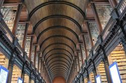 Trinity College Library - Dublin