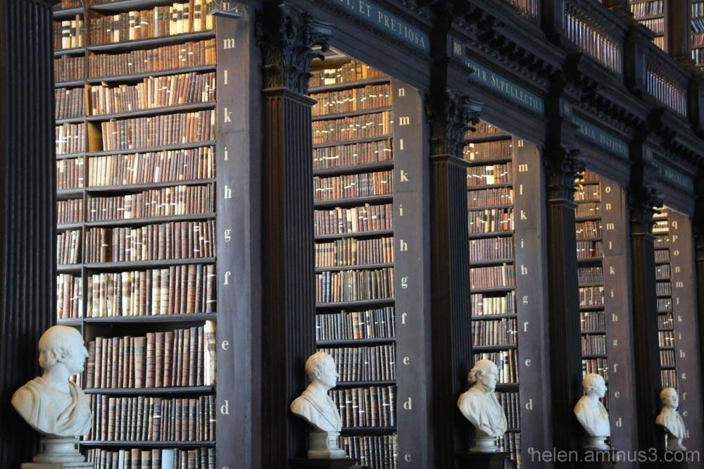 Trinity College Library - Dublin 2