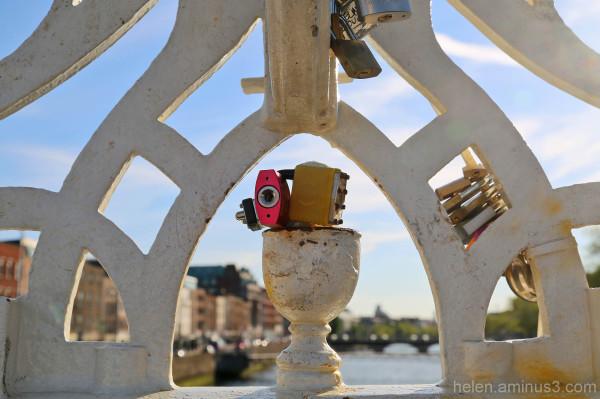 Locks on the Liffey