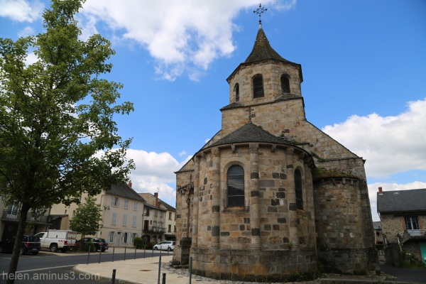 Church at Bourg-Lastic!
