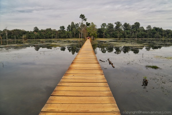 Angkor: Bridge to Neak Pean