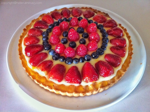 Made a tart today