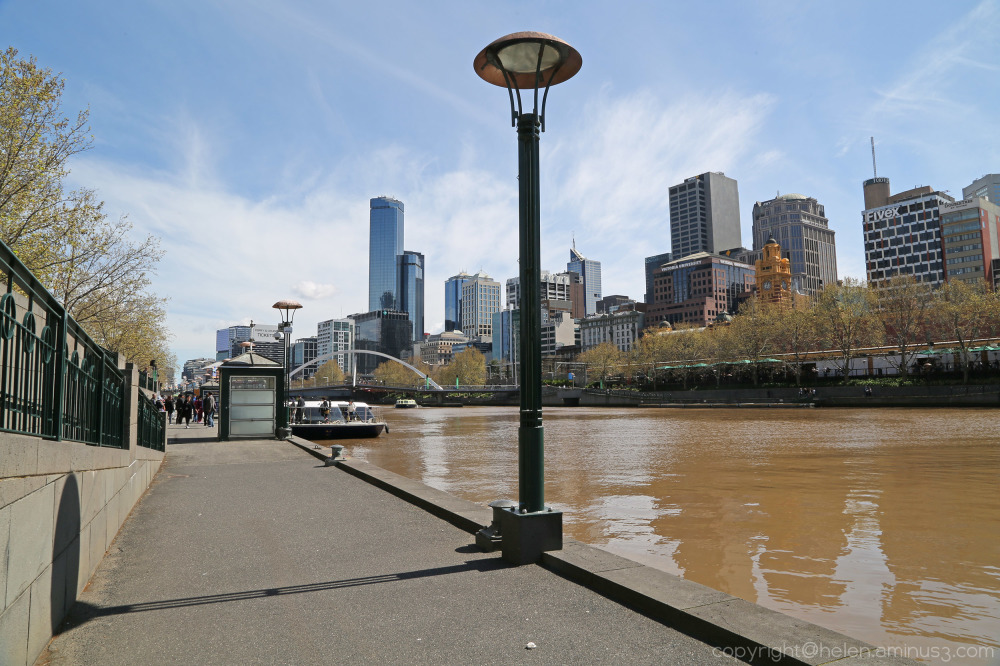 Stroll along the Yarra