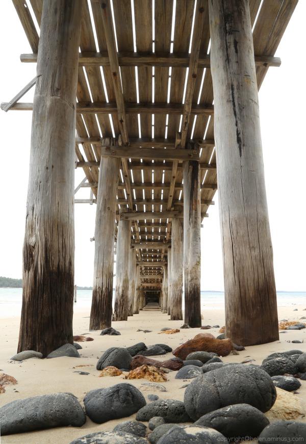 Summer ... under the pier
